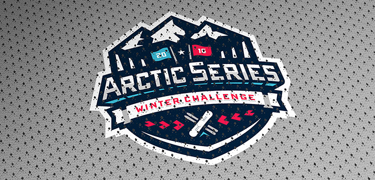 Arctic Series Sports Branding Event Graphic